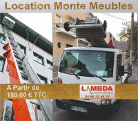 location monte meubles pour passer un objet par la fenêtre ou déménager à Marseille