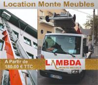 Location de monte meubles, Nacelle  et  monte matériaux à Marseille, Aix et aubagne.